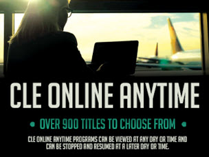 CLE Online Anytime